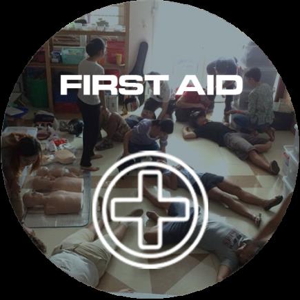 FIRST AID ICON CIRCLE