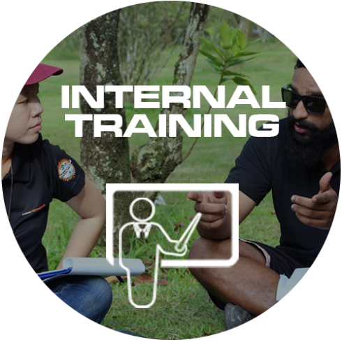 INTERNAL TRAINING ICON CIRCLE