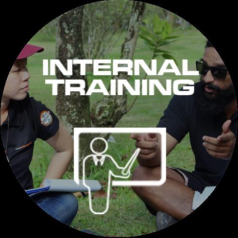 INTERNAL TRAINING ICON CIRCLE