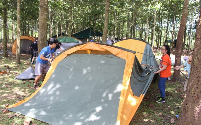 Training asiamotions _outdoor camping