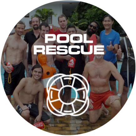 pool rescue icon circle