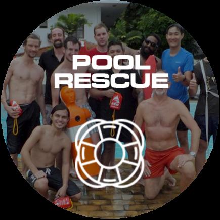 pool rescue icon circle